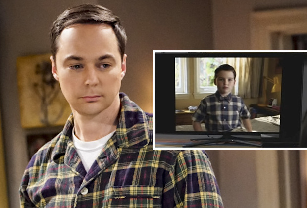 """The VCR Illumination"" -- Pictured: Sheldon Cooper (Jim Parsons). Sheldon and Amy are still down about their theory being disproven, but a VHS tape from Sheldon's past inspires him not to give up. Also, Bernadette turns into a pageant mom when she tries to help Wolowitz ace his Magic Castle audition, on THE BIG BANG THEORY, Thursday, Dec. 6 (8:00-8:31 PM, ET/PT) on the CBS Television Network. Photo: Bill Inoshita/CBS ©2018 CBS Broadcasting, Inc. All Rights Reserved."