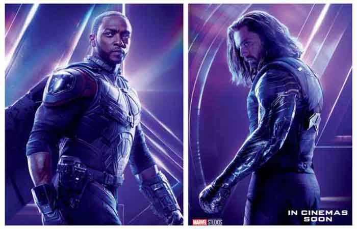 art z serialu the falcon and the winter soldier po polsku